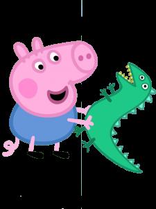 George Pig y el Señor Dinosaurio